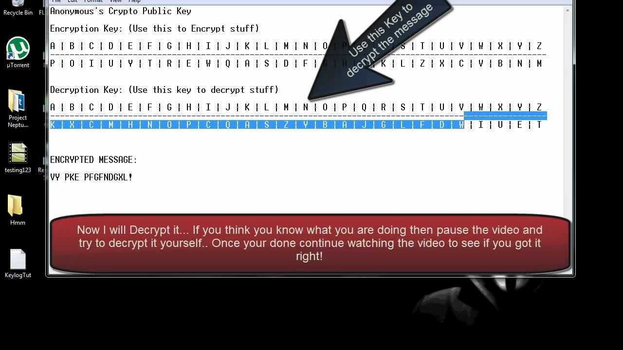 **TUTORIAL**Learn How to Encrypt and Decrypt Messages ...