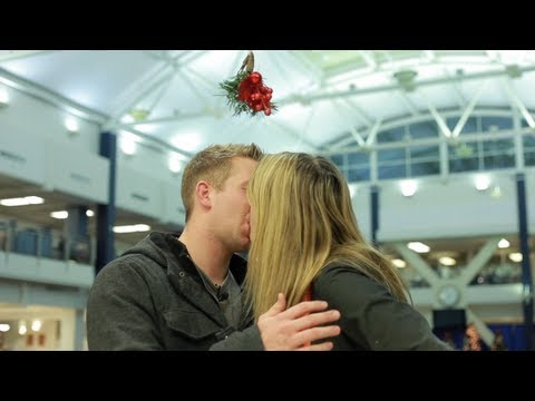 Mistletoe Kissing Prank (original) video
