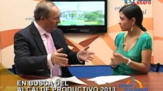 Entrevista: Sierra Productiva Promueve Concurso Alcalde Productivo 2013