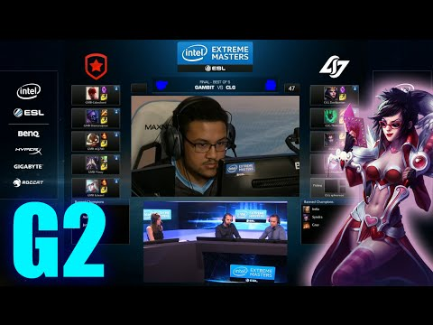 CLG vs Gambit Gaming | Game 2 Grand Finals IEM Cologne LOL 2014 | CLG vs GMB G2