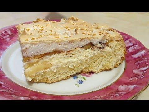 """Вкуснейший """"Яблочный пирог"""" с творожной начинкой!"""