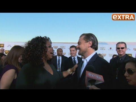 Critics' Choice Awards 2014: Oprah Winfrey and Leo DiCaprio's Red Carpet Collision