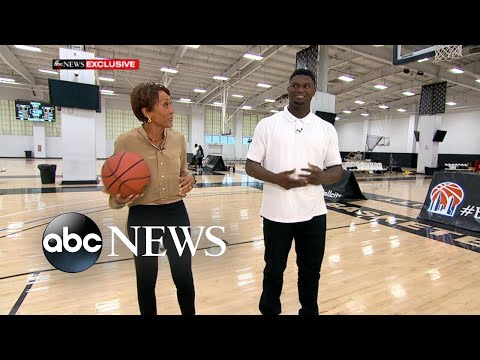 Zion Williamson on pressure of the NBA draft