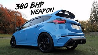 THIS TUNED *380BHP FORD FOCUS RS MOUNTUNE* IS PURISTS HEAVEN!!!