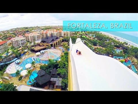 Insano Beach Park Adventures in Fortaleza - Travel Deeper Brazil (Episode 10)