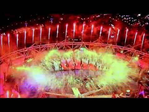 Brazil introduces Rio de Janeiro - London 2012 Olympics Closing Ceremony - Hand Over to Rio