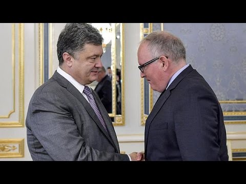 MH17: Ukraine's Poroshenko seeks to reassure the Netherlands