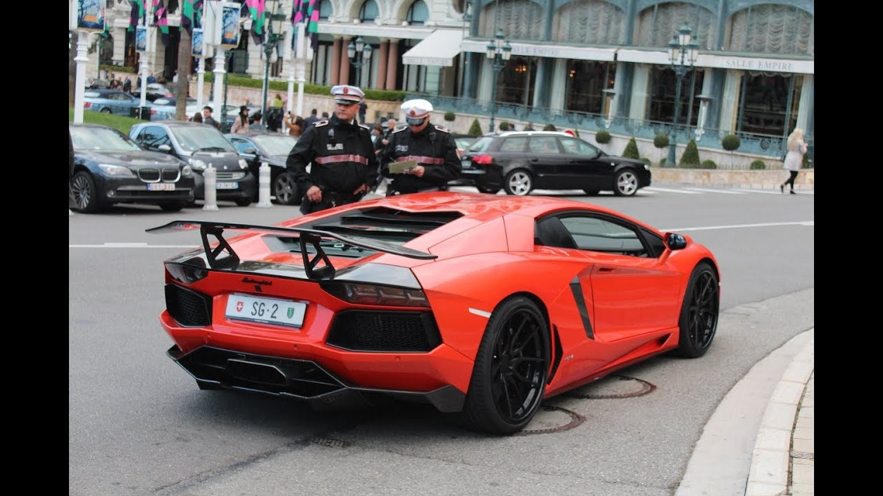 Pulled Over By Police Dmc Aventador Lp900 4 Molto Veloce Youtube