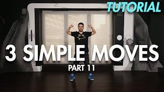 3 Simple Dance Moves for Beginners - Part 11 (Hip Hop Dance Moves Tutorial) | Mihran Kirakosian