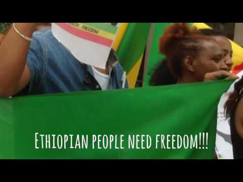 Demonstration In Front Of Ethiopian Embassy In Stockholm July 28 2016 Daniel