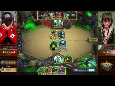 Tiddler Celestial vs. Firebat - Grand Finals - Hearthstone World Championship 2014