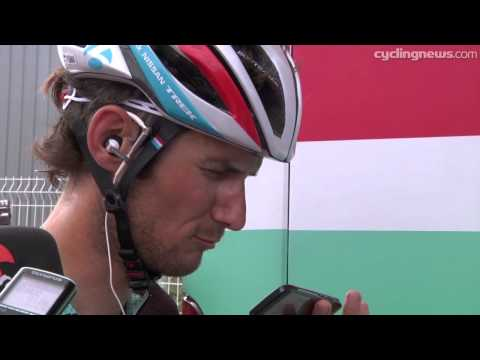 Frank Schleck after Tour de France Stage 12