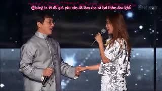 [LIVE] Endless Love Thành Long ft  Kim Hee Sun | Nhạc phim Thần Thoại  [VIETSUB]