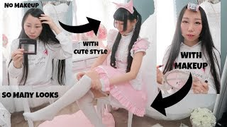 Get Ready With Me For Anime Convention!My Cosplay Routine(Makeup, Hair, Costume)