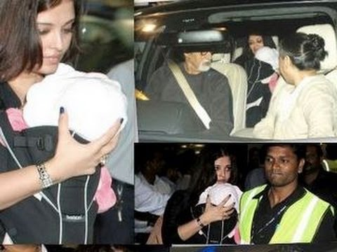 Watch Aishwarya Rai's FIRST PUBLIC APPEARANCE with Aaradhya!
