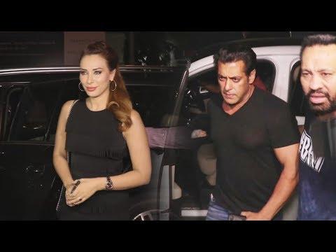 Salman Khan With LADYLOVE Iulia Vantur At Jacqueline Fernandez RACE 3 Party thumbnail