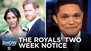 Prince Harry and Meghan Markle Step Back & Harvey Weinstein Texts in Court | The Daily Show