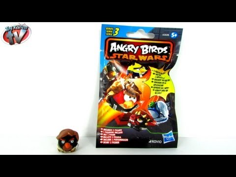 Angry Birds Star Wars Series 3 Mystery Blind Bag Figures Toy Review. Hasbro