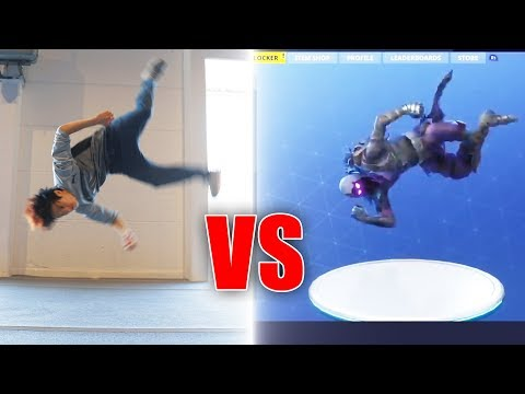 Fortnite Tänze in Real Life  Gong Bao