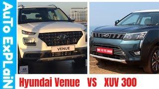 Hyundai Venue VS Mahindra Xuv 3oo |क्या में XUV 300 छोड़के Venu खरीदलो,