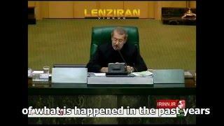 Head of Majlis Ali Larijani comment on Turkey military intervention in Iraq