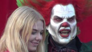 Walibi Holland Halloween Fright Nights - Eddie de Clown Meet & Greet Mainstage - 10/10/2015