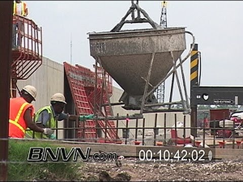 5/5/2006 and 5/6/2006 NOLA 9 Months After Katrina Part 8 - New Orleans Industrial Canal Repair Work