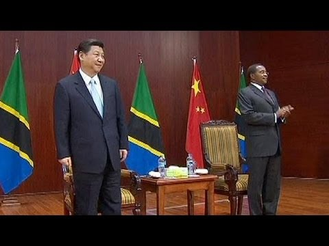 China's new president tours Africa to boost trade and investment