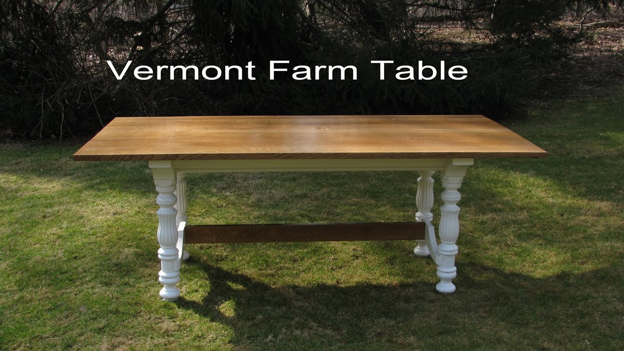 How to build, make a Dining table, By Jon Peters. Part 3 Building the table top - YouTube