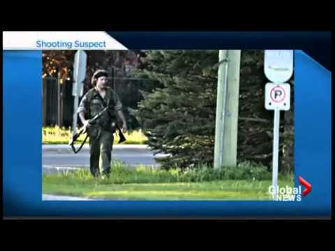 Moncton Shooting Manhunt for SHOOTER 3 Dead 2 Hurt New Brunswick Canada
