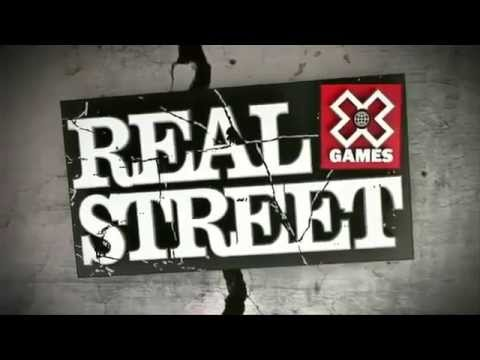 Nyjah Huston X Games Real Street 2012