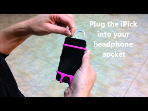 iPick - a touch screen stylus for your smart phone