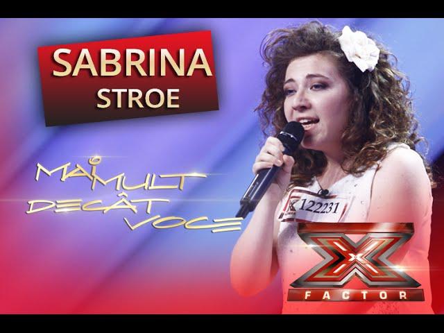 Adele - Skyfall. Vezi aici cum cânta Sabrina Stroe la X Factor!