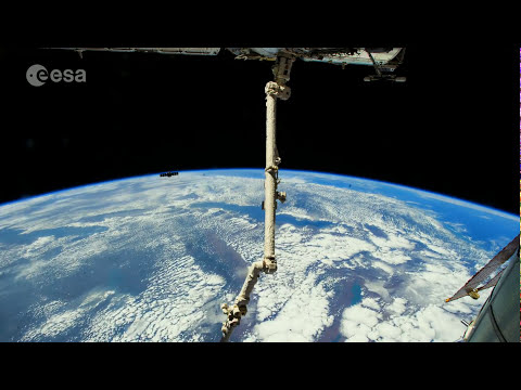 Earth images from Alexander Gerst in 4K