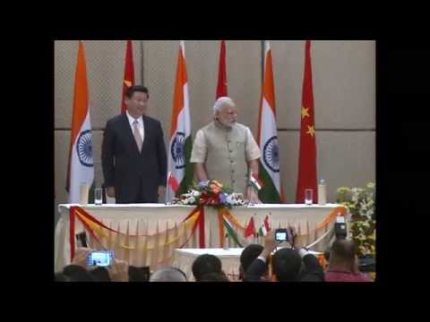 PM Modi & Chinese President Xi Jinping witness signing of 3 MoUs in Ahmedabad