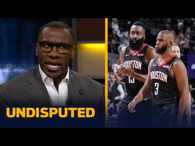 James Harden and Chris Paul cannot coexist on the Rockets — Shannon Sharpe | NBA | UNDISPUTED thumbnail