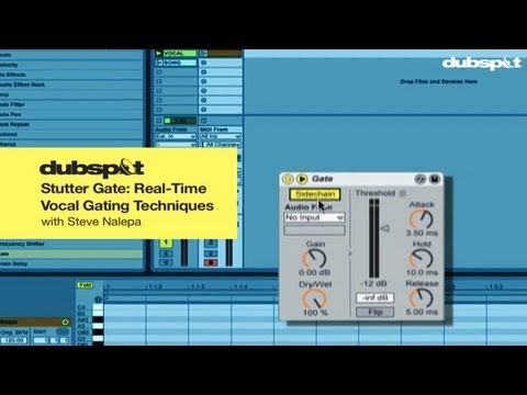 Ableton Live Tutorial: 'Stutter Gate' Real-Time Vocal Gating Techniques