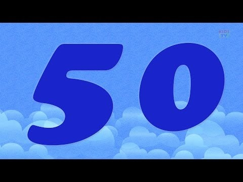 One To Fifty Number Song | Numbers Videos For Toddlers | 123 Number Songs For Children by Kids Tv