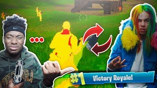 Download Lagu THIS FORTNITE HACKER IS 6IX9INE'S Cousin... WEIRDEST FORTNITE DUOS VICTORY OF ALL TIME! Gratis STAFABAND