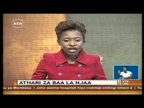 KTN Leo Full bulletin 19th August 2014 ( Ebola Watch; Mombasa County strike)