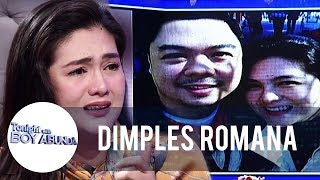 Dimples turns emotional while talking about her husband | TWBA