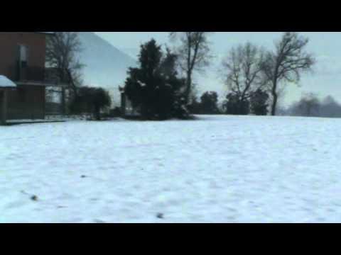 Neve a Pontecorvo – Lunedì 6 Febbraio 2012 dopo la bufera del fine settimana.