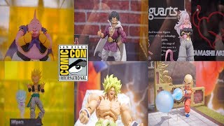NEW SH Figuarts BROLY HERCULE ANDROID 21 TRUNKS BUU GOTENKS Figure Pictures Review SDCC 2018
