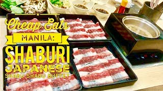 Cheap Eats Manila: Shaburi Wagyu All You Can Eat Shabu Shabu Buffet Uptown Mall BGC Manila