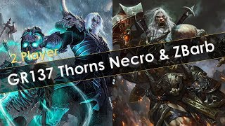 GR137 2 Player Clear Thorns Necro & Pull Barb