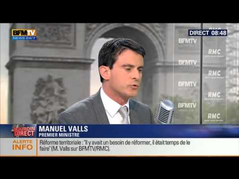Bourdin Direct : Manuel Valls -- 03/06