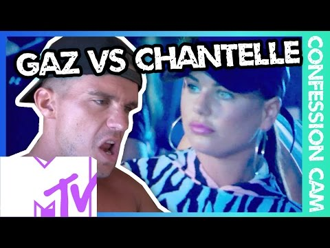 GEORDIE SHORE 1305 | Confession Cam - Gaz vs Chantelle | MTV
