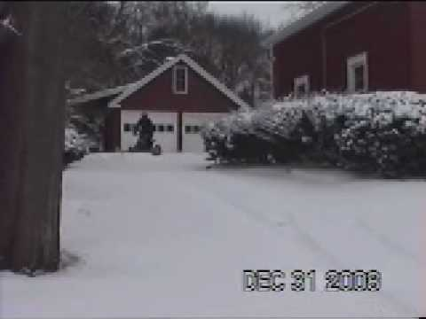 plowing snow with honda 300ex home made snow plow 2wd