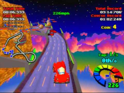 Motor Toon Grand Prix (2) Game Sample - Playstation