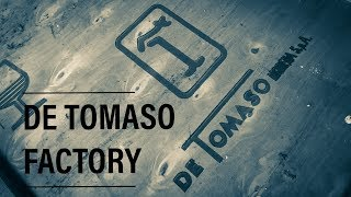 De Tomaso abandoned supercar factory